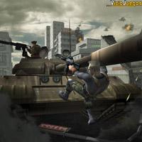En tu arduo trabajo de mercenario, fácilmente estarás destruyendo tanques...