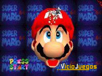 Al principio podemos usar el cursor para hacer una cirugía plástica a Mario (Como a Berlusconi)