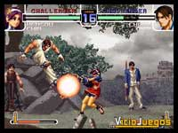 Imagen/captura de The King of Fighters 2002/2003 para PlayStation 2