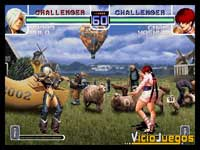 Imagen/captura de The King of Fighters 2002/2003 para PlayStation 2