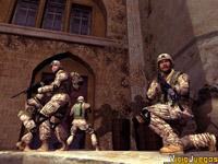 Tendremos a nuestra disposición a cuatro marines estadounidenses perfectamente preparados.