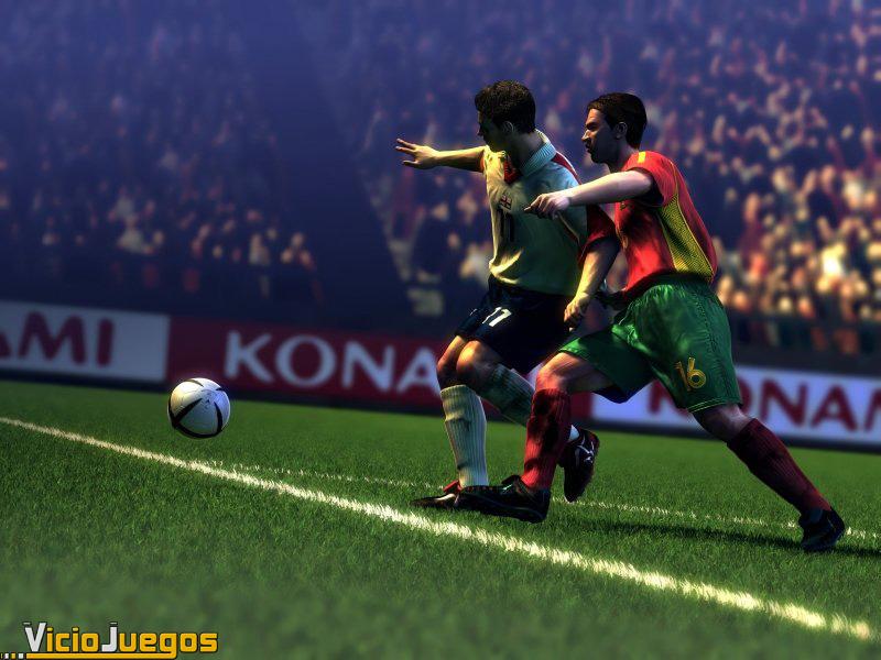 El fútbol según Konami