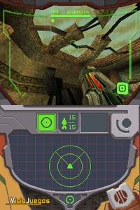Imagen/captura de Metroid Prime Hunters para Nintendo DS