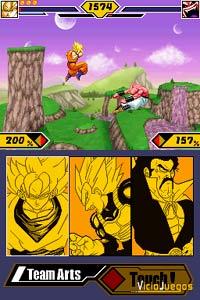 Imagen/captura de Dragon Ball Z: Supersonic Warriors 2 para Nintendo DS