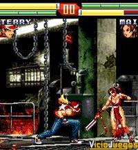 Terry contra Mai, dos clásicos de la saga frente a frente.