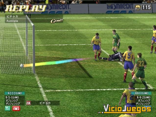 Analisis De Virtua Striker 4 Para Arcade Pag 4 Uvejuegos Com
