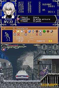 Imagen/captura de Castlevania: Dawn of Sorrow para Nintendo DS