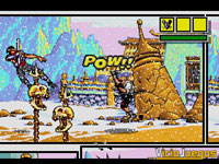Imagen/captura de Comix Zone para Mega Drive