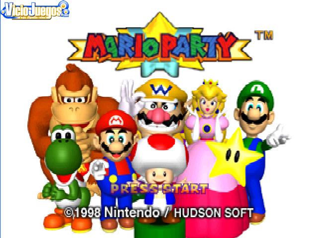 Mario se monta su primera fiesta
