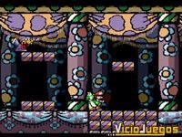 La estética del título es bastante personal, y diferenciada respecto a Super Mario World
