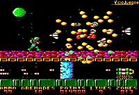 Imagen/captura de Exolon para Amstrad