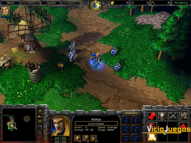 Analisis De Warcraft Iii Reign Of Chaos Para Pc Pag 2