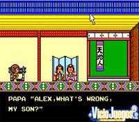 Alex hablando con el rey en palacio