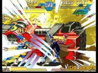 Imagen/captura de Marvel vs. Capcom: Clash of Super Heroes para Dreamcast