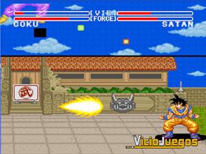 El primer combate de Goku en la doméstica