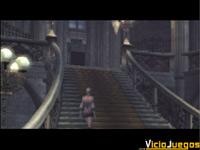 ¿Un guiño a las escaleras de la mansión del primer Resident Evil?