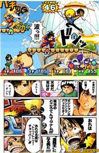 Naruto vs. Son Goku vs. Kenshin vs. Bobobo