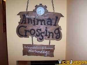 """La entrega para Nintendo DS de """"Animal Crossing"""" se presenta en el local Nintendo Friends."""