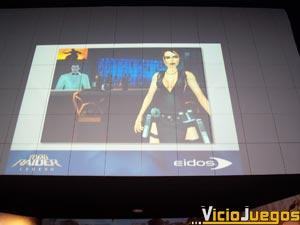 """Carlos Astorqui nos mostró una retrospectiva de toda la saga así como el aspecto de """"Tomb Raider Legend"""""""