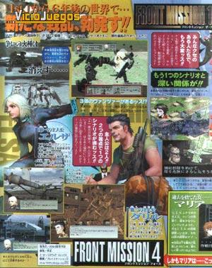 Front Mission 4 anunciado para PS2