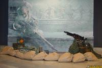 La representación del escenario de Stalingrado