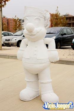La susodicha estatua de Mario