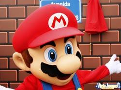 Mario nuevamente contento