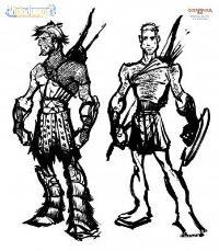 Santa Monica muestra los primeros diseños de Kratos