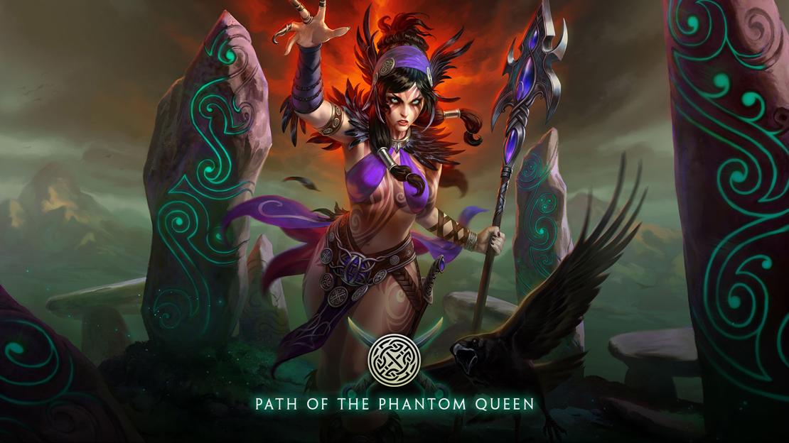 Morrigan, la reina fantasma, será la primera diosa celta de Smite