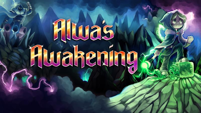 Los retro-magos suecos de Alwa's Awakening llegan a Steam