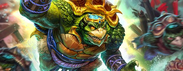 Kuzenbo, el rey Kappa, es el quinto dios japonés de Smite
