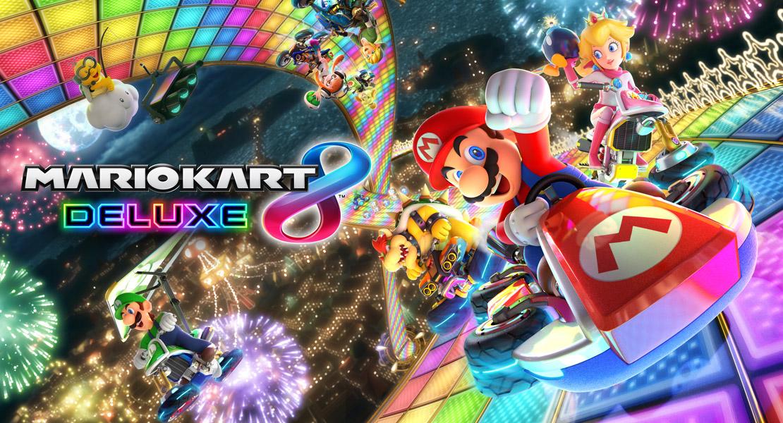 Nintendo revela nuevos detalles de Mario Kart 8 Deluxe
