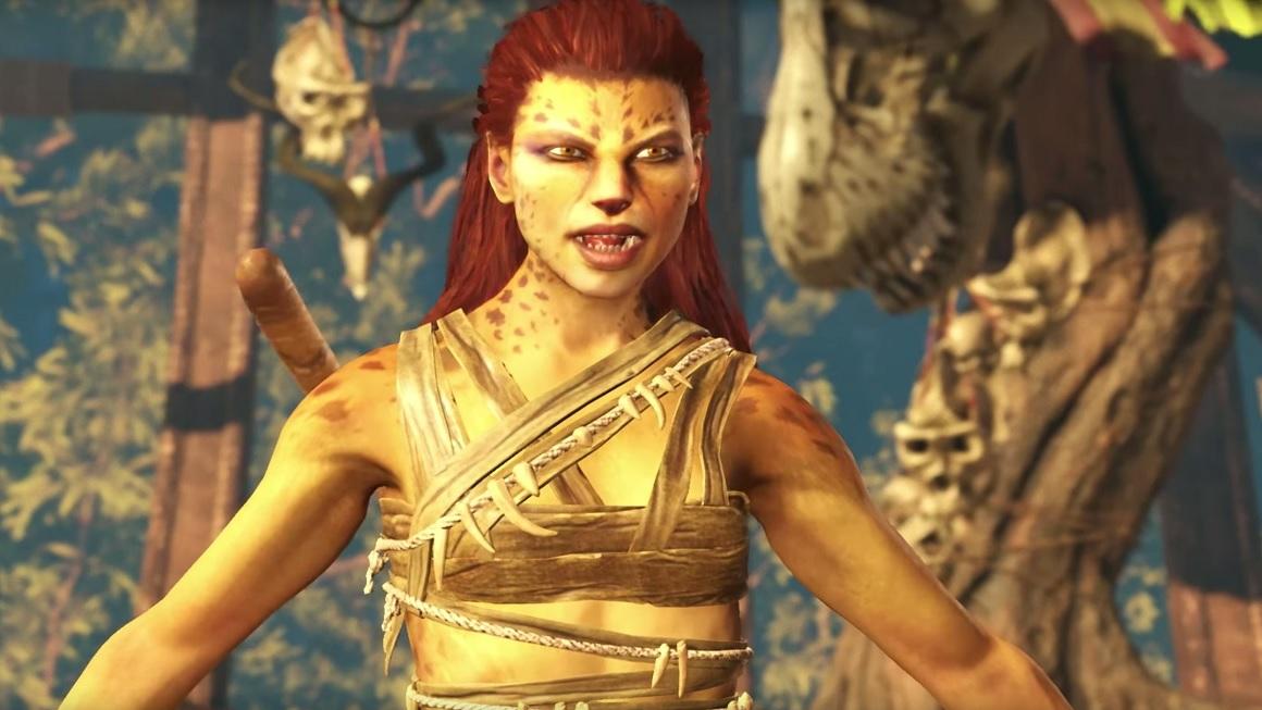 La peluda Cheetah arañará a sus rivales en Injustice 2
