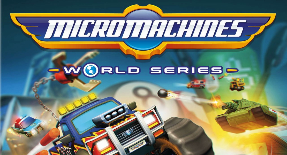 Video del multijugador de Micro Machines World Series
