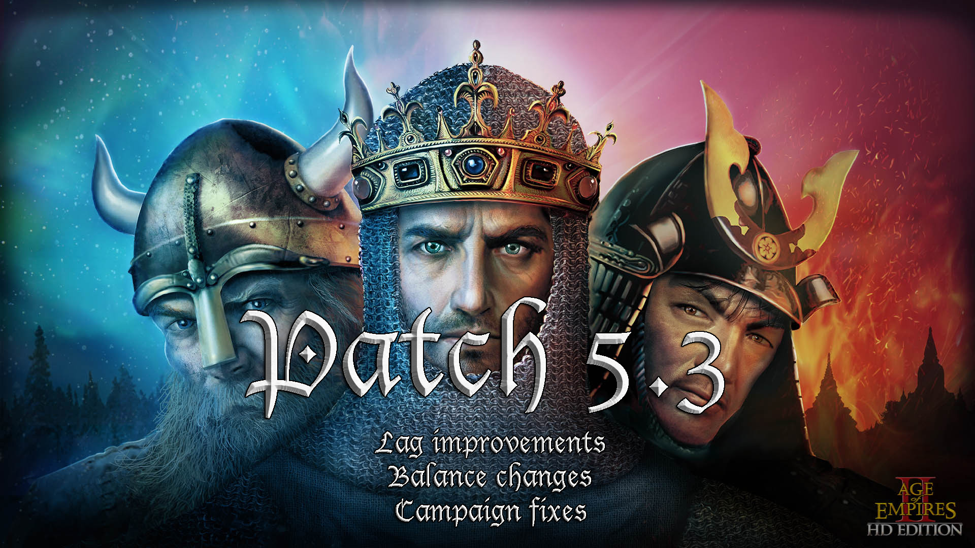 Ya disponible el parche 5.3 de Age of Empires II: HD Edition