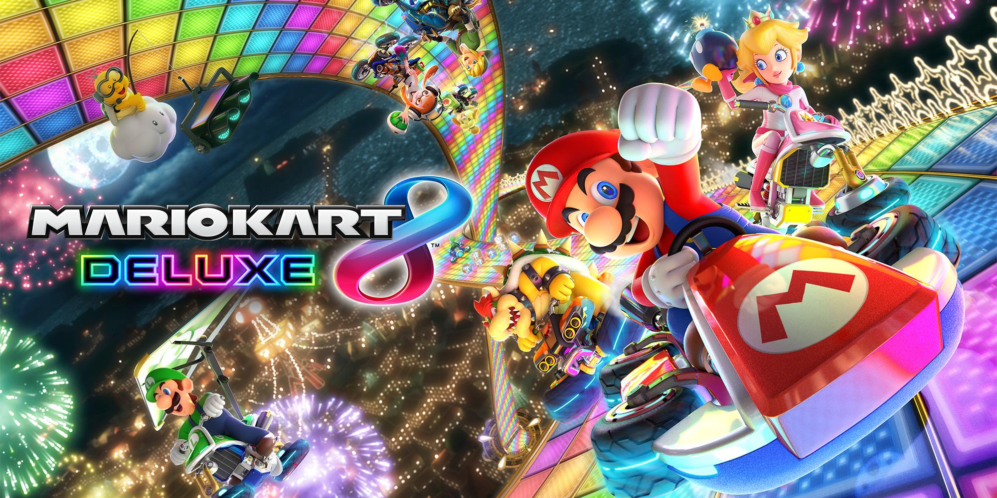 Mario Kart 8 Deluxe es el más vendido de la semana en Reino Unido