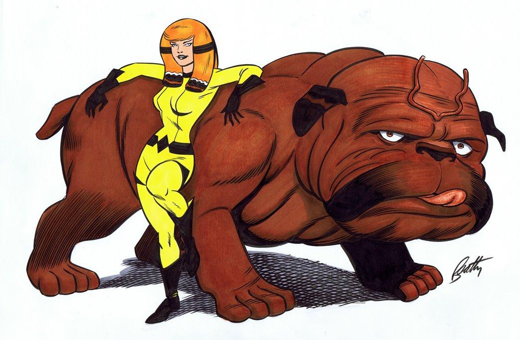 El perrete inhumano Lockjaw estará en LEGO Marvel Super Heroes 2