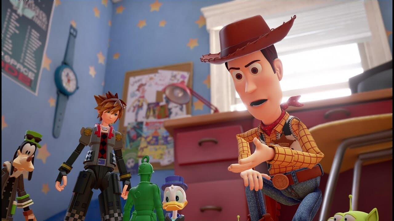 Toy Story será un mundo en Kingdom Hearts 3
