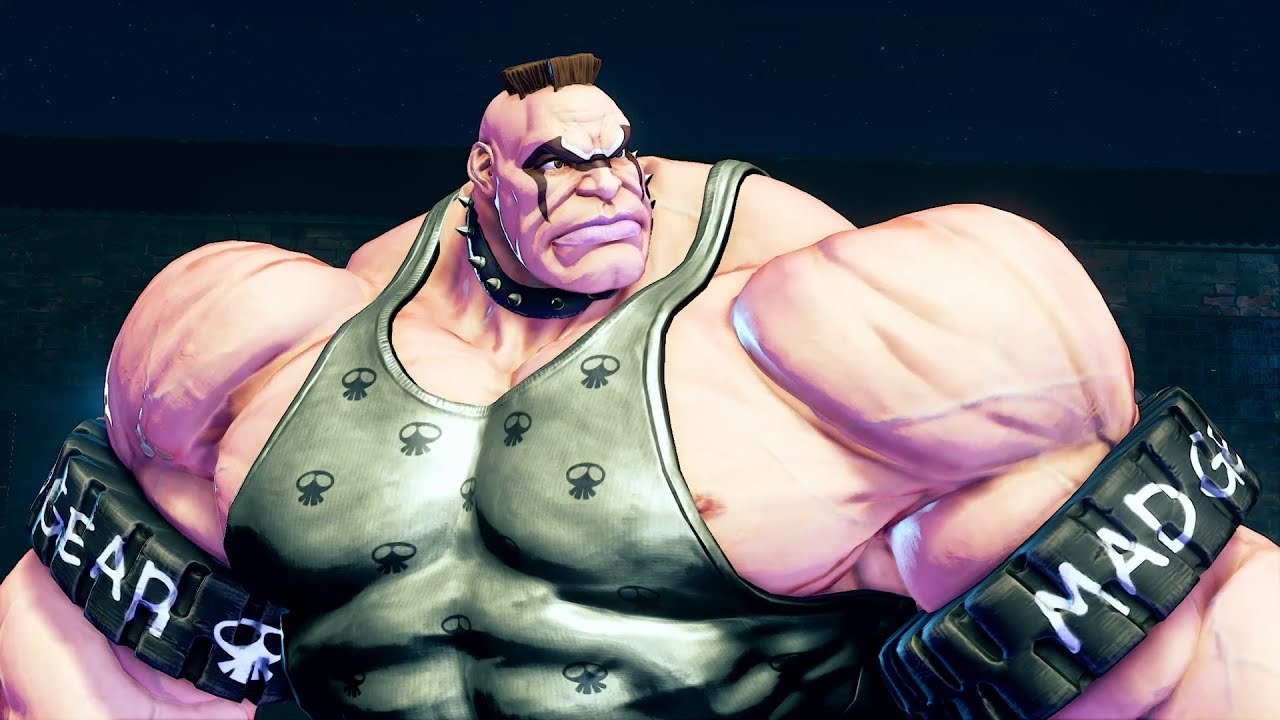 Abigail se estrena como cachas oficial de Street Fighter V