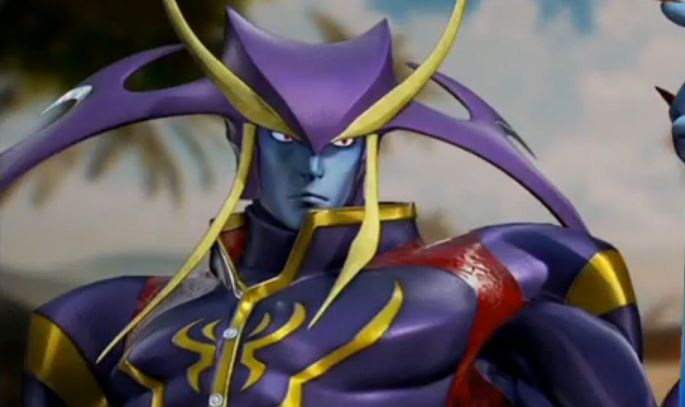 Jedah Dohma, de Darkstalkers, debuta en Marvel Vs Capcom Infinite