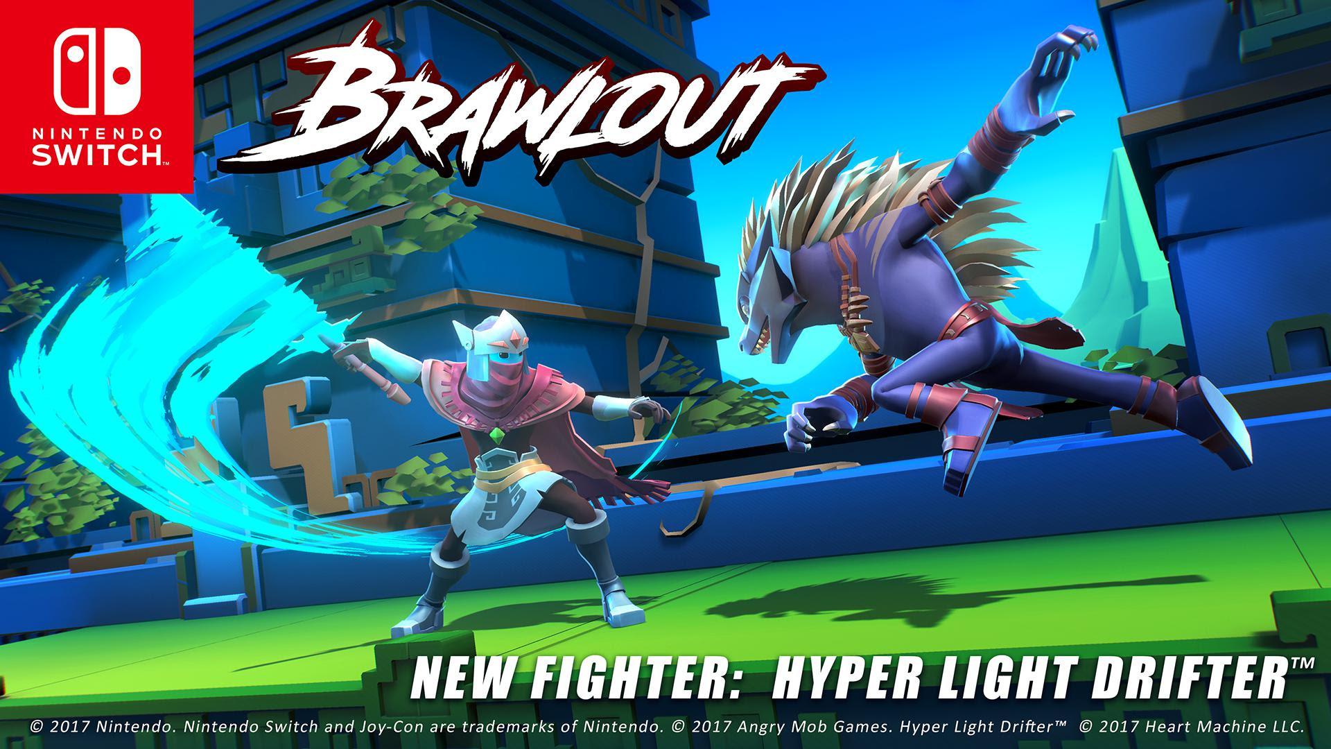 Brawlout saldrá en Switch y presenta un personaje famoso