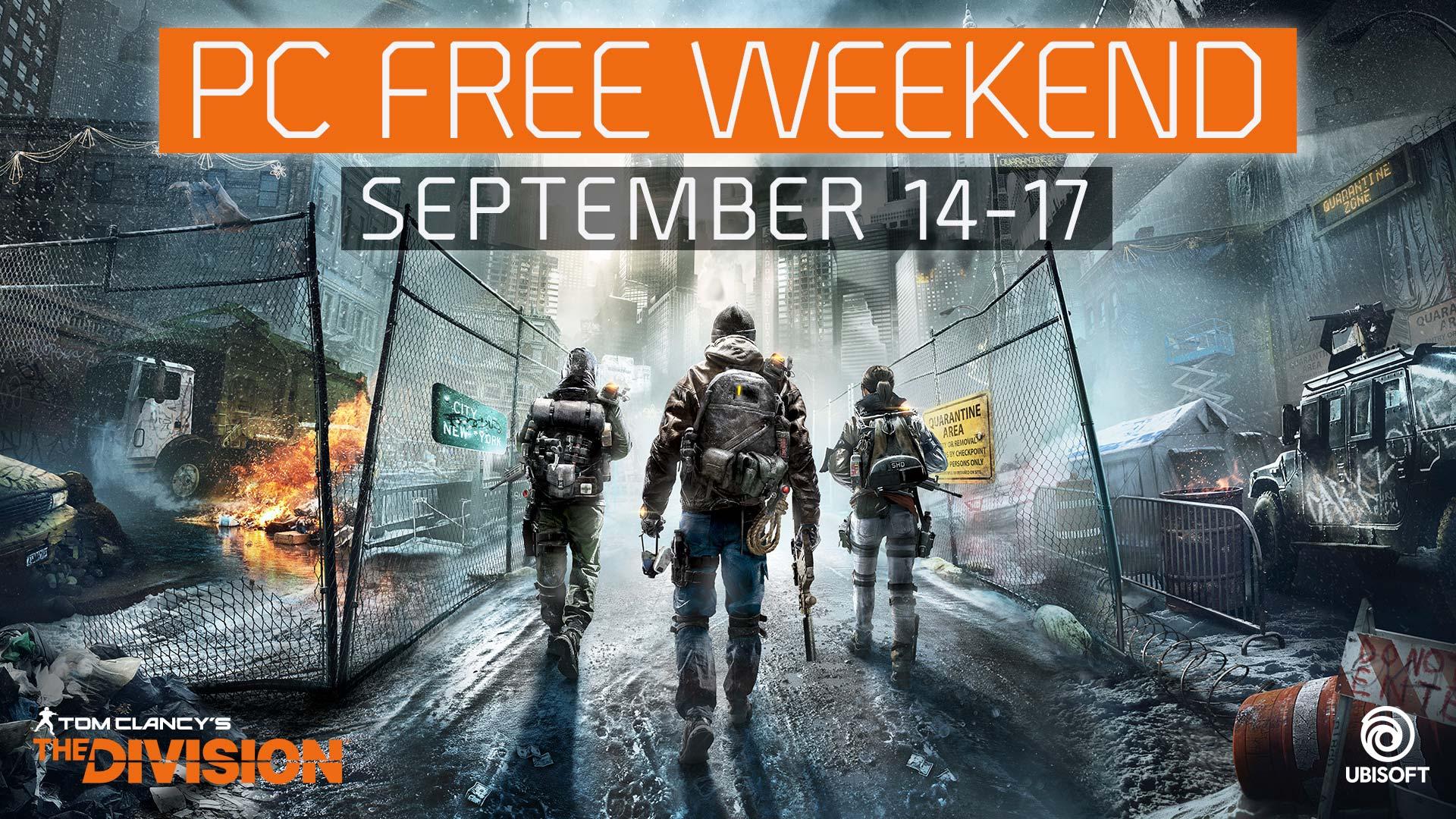 The Division se podrá descargar gratuitamente este fin de semana en PC