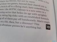 Super Mario Odyssey ya tiene su primera puntuación perfecta