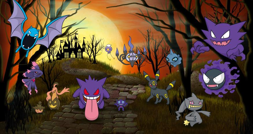 El evento de Halloween en Pokémon Go traerá la tercera generación