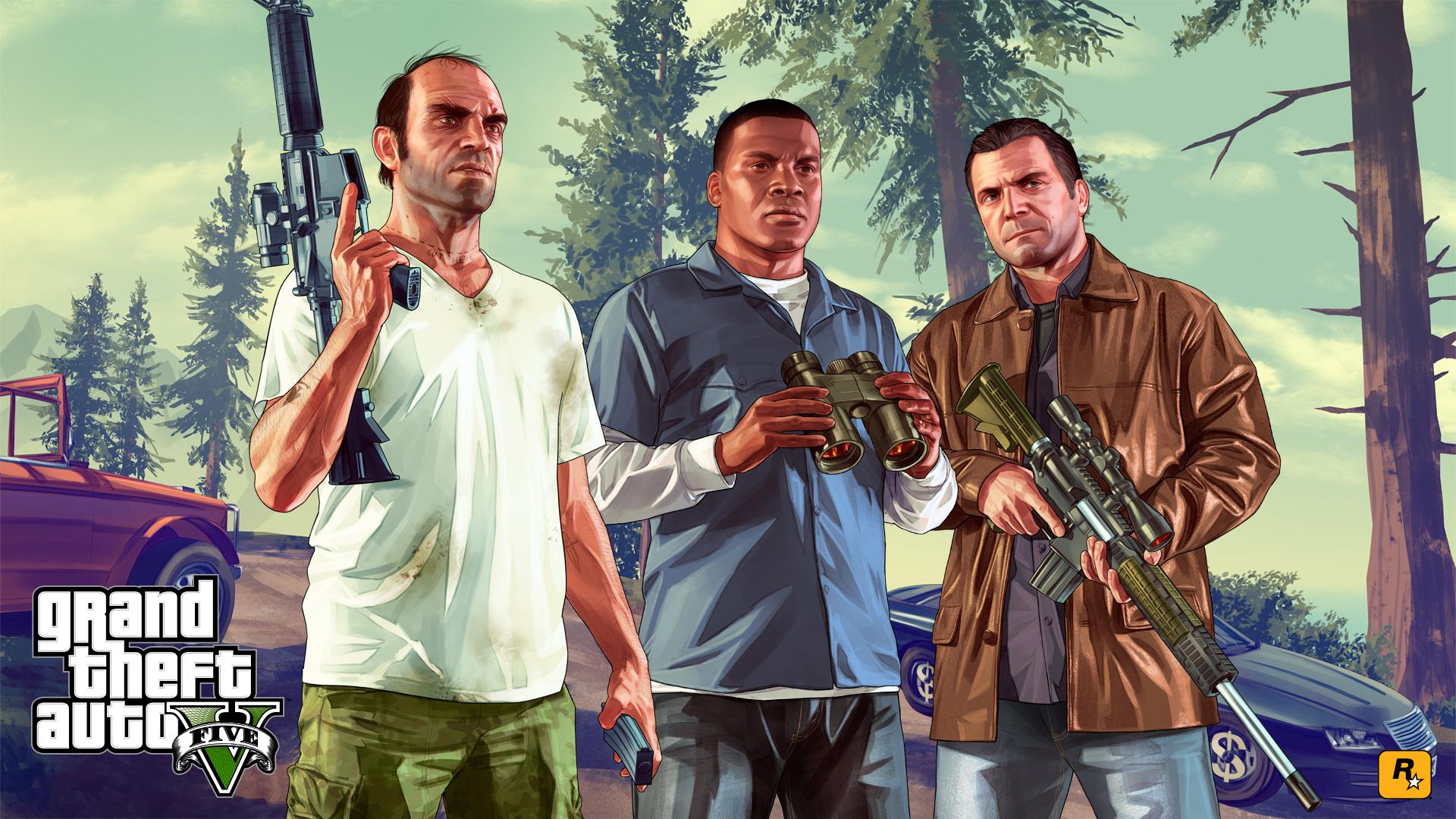 Grand Theft Auto V ya es el tercer juego más vendido de la historia