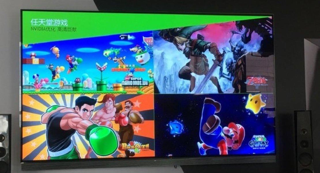 nVidia Shield recibirá varios juegos de Nintendo en China
