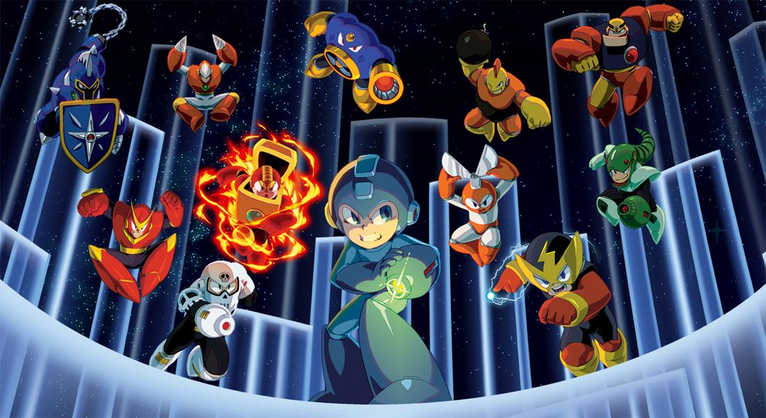 Switch recibirá las dos partes de Mega Man Legacy Collection