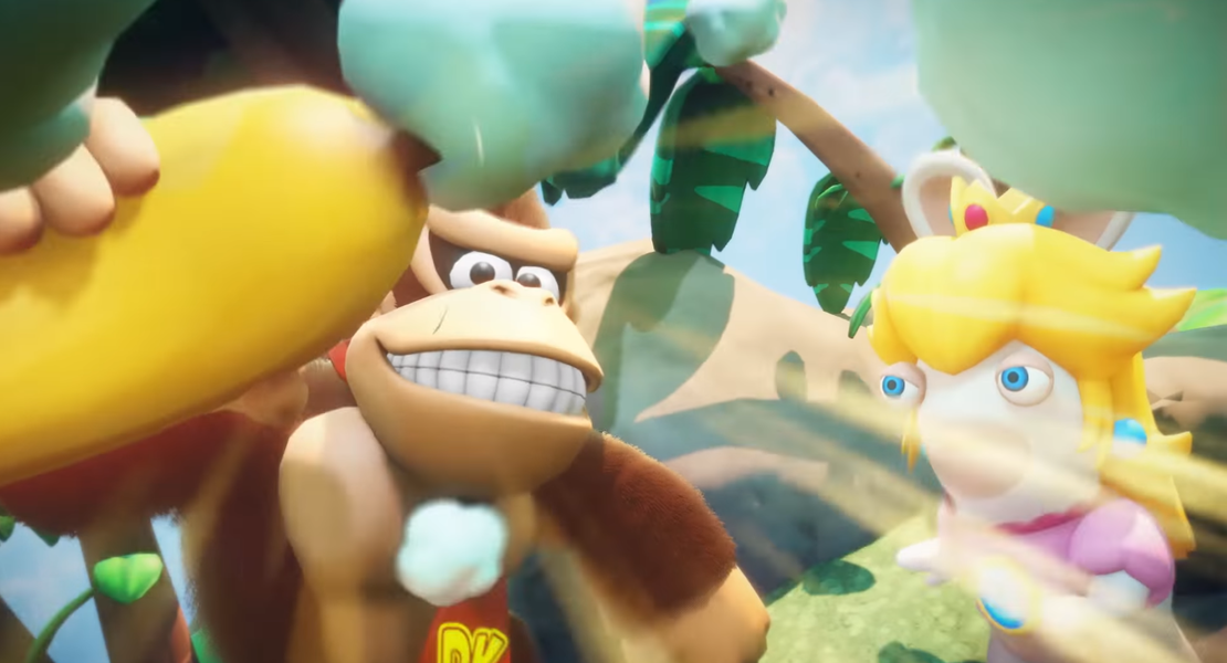 Donkey Kong será personaje jugable en Mario + Rabbids Kingdom Battle