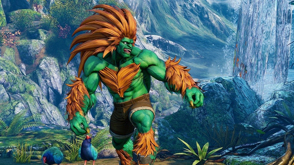 Blanka regresa a Street Fighter V luciendo su salvaje melena al viento
