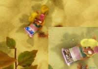 Ahora Coco Bandicoot observa una imagen de Crash Bandicoot en lugar de una escena de Uncharted 4